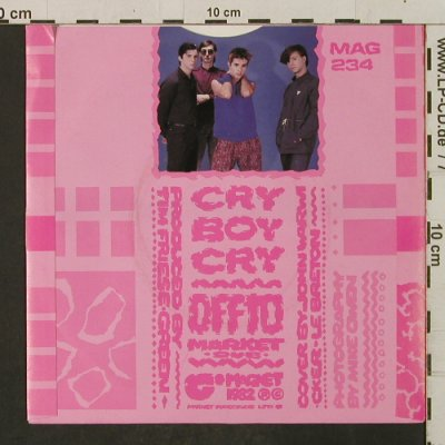 Blue Zoo: Cry Boy Cry/Off To Market Dub, Magnet(MAG 234), UK, 1982 - 7inch - T2280 - 1,50 Euro
