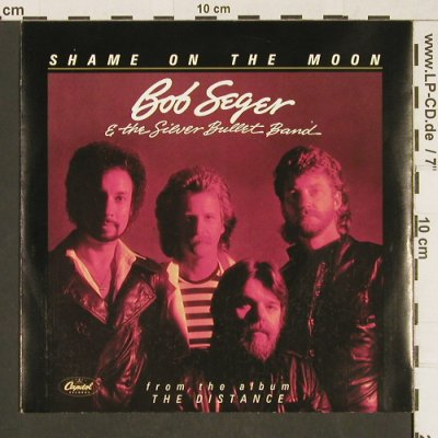Seger,Bob & the Silver Bullet Band: Shame On The Moon/HouseBehindThe..., Capitol(006-86 634), D, 1982 - 7inch - T228 - 3,00 Euro