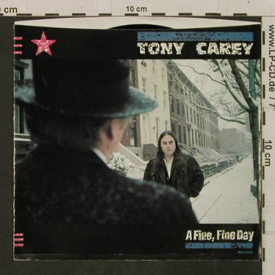 Carey,Tony: A Fine, Fine Day/Say It's All Over, MCA, Promo stol(52343), US, 1984 - 7inch - T2292 - 2,00 Euro