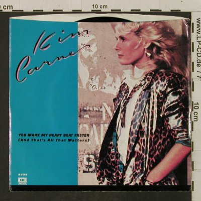 Carnes,Kim: You Make My Heart Beat Faster, EMI(B-8191), US, m-/vg+, 1983 - 7inch - T2293 - 1,50 Euro