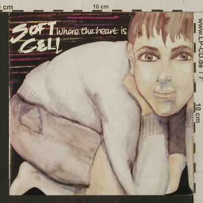 Soft Cell: Where The Heart Is/It's A Mugs Game, Some Bizar(BZS 16), UK, vg+/m-, 1983 - 7inch - T2317 - 2,00 Euro