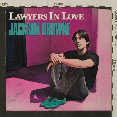 Browne,Jackson: Lawyers In Love / Say It Isn't True, Asylum(7-69826), US, 1983 - 7inch - T2346 - 2,00 Euro