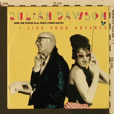 Dawson,Julian & The Flood: I Like Your Absence/Cold Cold World, Polydor(885 581-7), D, 1987 - 7inch - T2357 - 1,50 Euro