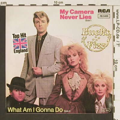 Bucks Fizz: My Camera Never Lies/WhatAmIGonnaDo, RCA(PB 5469), UK, 1982 - 7inch - T235 - 2,50 Euro