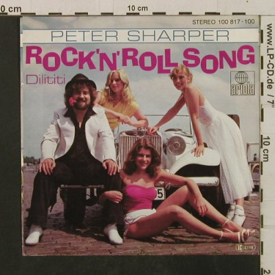 Sharper,Peter: Rock'n'Roll Song / Dilititi, Ariola(100 817), D,  - 7inch - T2367 - 2,50 Euro