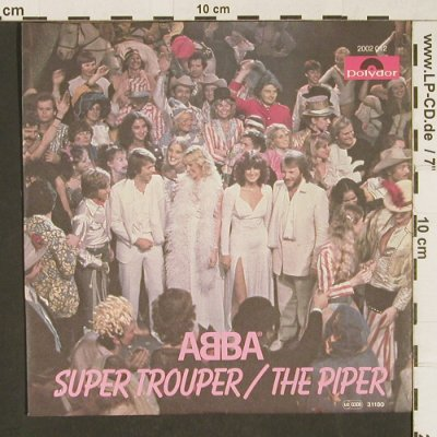 Abba: Super Trouper/The Piper, Polydor(2002 012), D, 1980 - 7inch - T240 - 2,50 Euro