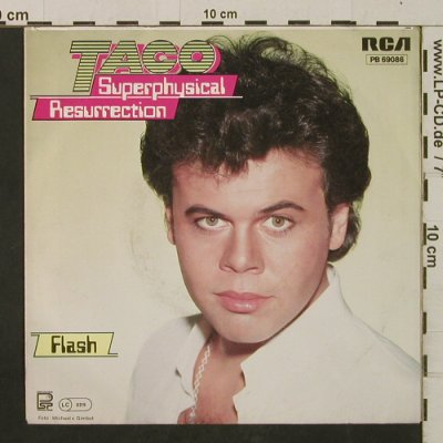 Taco: Superphysical Resurrection / Flash, RCA(PB 69086), D,blueViny, 1983 - 7inch - T2424 - 4,00 Euro