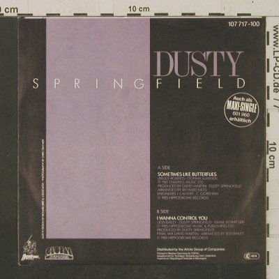 Springfield,Dusty: Sometimes Like Butterflies, Global(107 717), D, 1985 - 7inch - T2428 - 3,00 Euro