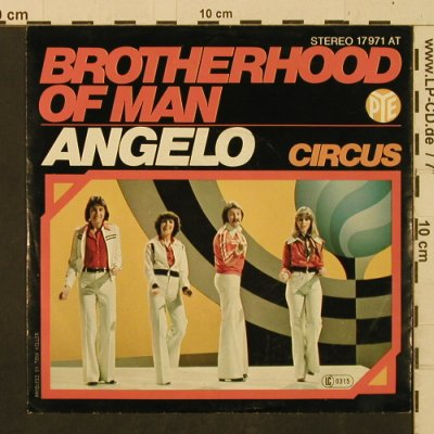 Brotherhood of Man: Circus / Angelo, Pye(17971 AT), D, 1977 - 7inch - T2429 - 2,50 Euro