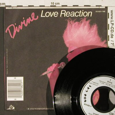 Divine: Love Reaction / Inst., Bobcat(813 821-7), D, 1983 - 7inch - T248 - 2,50 Euro