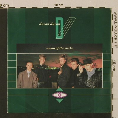 Duran Duran: Union Of The Snake / Secret October, EMI(EMI 5429), UK, 1983 - 7inch - T2491 - 3,00 Euro