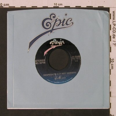 Ant,Adam: Desperate But Not Serious, FLC, Epic/Promo-Stol(34-03688), US, 1982 - 7inch - T2493 - 3,00 Euro