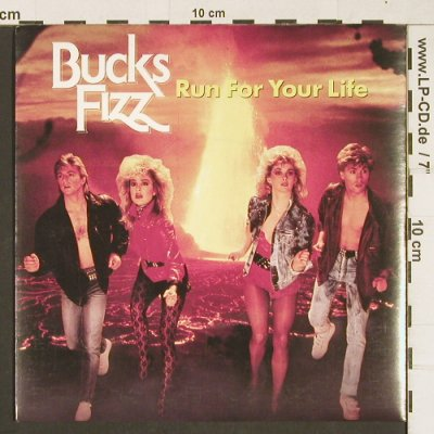 Bucks Fizz: Run For Your Life / Shot Me Through, RCA(FIZ 1), UK, 1983 - 7inch - T252 - 3,00 Euro