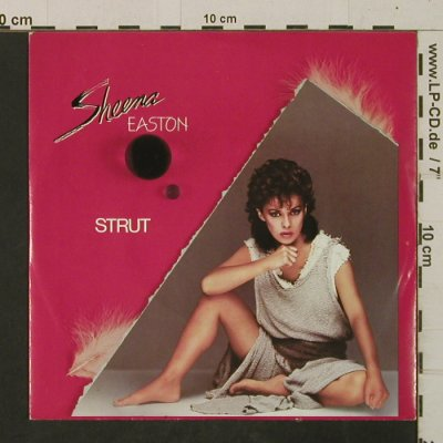 Easton, Sheena: Strut / Hungry Eyes, EMI(20 03687), D, 1984 - 7inch - T2548 - 2,00 Euro