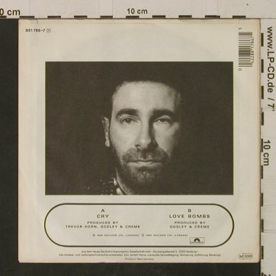 Godley & Creme: Cry, Polydor(881 786-7), D, 1985 - 7inch - T2581 - 2,50 Euro