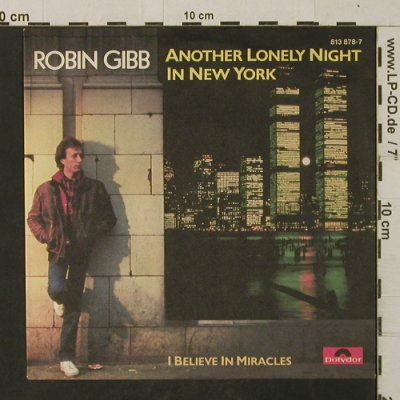 Gibb,Robin: Another Lonely Night In New York, Polydor(813 878-7), D, 1983 - 7inch - T2649 - 3,00 Euro