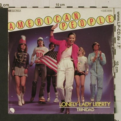 American People: Lonely Lady Liberty / Trinidad, EMI(006-46 125), D, 1980 - 7inch - T2663 - 2,00 Euro