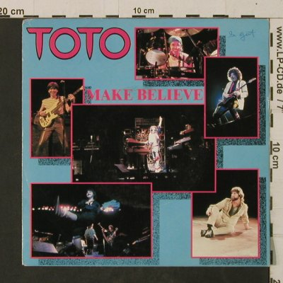 Toto: Make Believe / Lovers In The Night, CBS(CBS A 2997), NL, woc, 1982 - 7inch - T2669 - 2,00 Euro