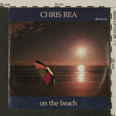 Rea,Chris: On The Beach / If Anybody Asks You, Magnet(885 113-7), D, 1986 - 7inch - T2670 - 3,00 Euro