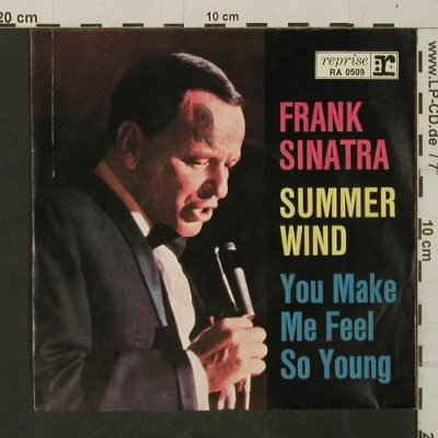 Sinatra,Frank: Summer Wind/You Make Me FeelSoYoung, Reprise(RA 0509), D,  - Cover - T2681 - 1,50 Euro