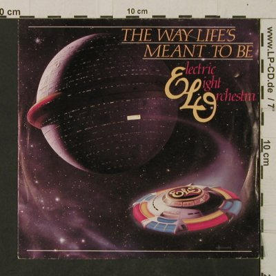 ELO: The Way Life's Meant To Be/Whishing, Jet Rec.(809), NL, 1981 - 7inch - T2702 - 2,50 Euro
