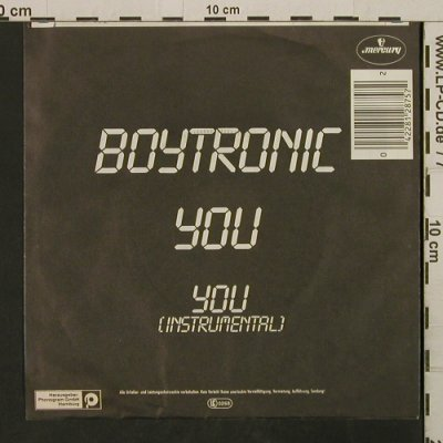 Boytronic: You, Mercury(812 875-7), D, 1983 - 7inch - T2727 - 2,00 Euro