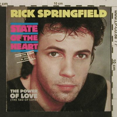 Springfield,Rick: State Of The Heart/The Power OfLove, RCA(PB 49959), D, 1985 - 7inch - T2745 - 1,50 Euro