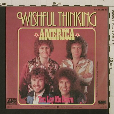 Wishful Thinking: America/You Lay Me Down, WEA(Atl 11 222), D, 1978 - 7inch - T2747 - 2,50 Euro
