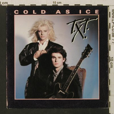 T.X.T.: Cold As Ice / Bad Boys, CBS(A 6551), D, 1985 - 7inch - T2771 - 1,50 Euro