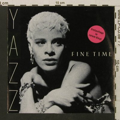 Yazz: Fine Time / Dream, Red Vinyl, Big Life(INT 110.782), D, 1989 - 7inch - T2772 - 3,00 Euro