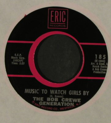 Toys / Bob Crewe Generation: A Lover's Concerto/Music To Watch.., Eric, LC, Ri(185), US,  - 7inch - T2816 - 2,50 Euro