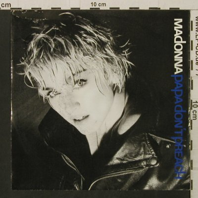 Madonna: Papa Don't Preach/Ain't No Big Deal, Sire, stoc(928 636-7), D, m-/vg+, 1986 - 7inch - T2819 - 2,00 Euro