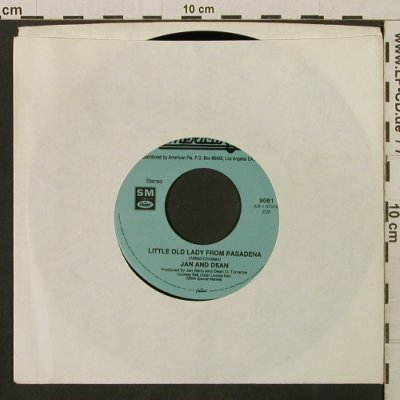 Jan & Dean / Lettermen: Little Old Lady From Pasadena, American Pie(9061), US, LC, Ri,  - 7inch - T2834 - 2,50 Euro