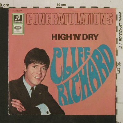 Richard,Cliff: Congratulations/High 'n' Dry, Columbia(C 23 750), D,  - 7inch - T2930 - 3,00 Euro