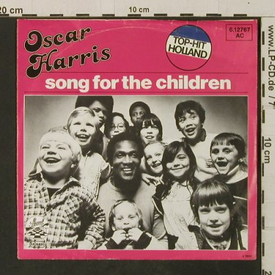 Harris,Oscar: Song For The Children/Teach Me How, Strand(6.12767), D, m-/vg+, 1980 - 7inch - T3035 - 2,00 Euro