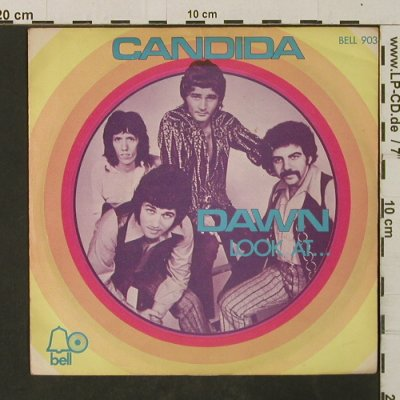Dawn: Candida / Lokk At..., vg+/m-, Bell(903), D, 1970 - 7inch - T3036 - 2,00 Euro