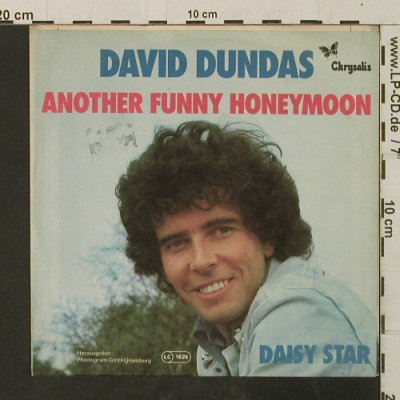 Dundas,David: Another Funny Honeymoon/Daisy Star, Chrysalis(6155 080), D, 1977 - 7inch - T3037 - 2,00 Euro