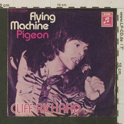 Richard,Cliff: Flying Machine / Pigeon, m-/vg+, Columbia(C 006-04 846), D,  - 7inch - T3076 - 2,50 Euro