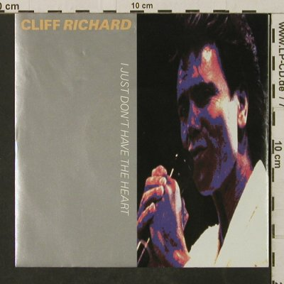 Richard,Cliff: I Just Don't Have The Heart, EMI(20 3477 7), EEC, 1989 - 7inch - T3085 - 2,50 Euro