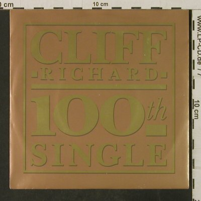 Richard,Cliff: The Best Of Me/Move It/Lindsay Jane, EMI/C.R.100th single(20 3383 7), EEC, 1989 - 7inch - T3088 - 3,00 Euro