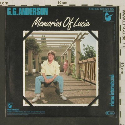 Anderson,G. G.: Memories of Lucia / Papa Charlie, Hansa(105 521), D, 1983 - 7inch - T3096 - 2,00 Euro