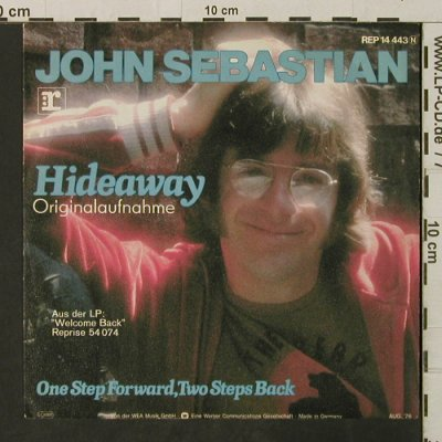 Sebastian,John: Hideaway/One Step Forward..., Reprise(REP 14 443), D, 1976 - 7inch - T3119 - 2,50 Euro