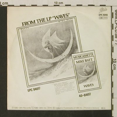 Batt,Mike: The Winds Of Change/Echo Foxtrot, Epic(EPC 9046), NL, 1980 - 7inch - T3142 - 3,00 Euro