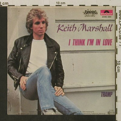 Marshall,Keith: I Think I'm In Love / Tramp, Polydor(2040 384), D, 1982 - 7inch - T3153 - 2,50 Euro