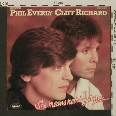 Richard,Cliff & Phil Everly: She Means Nothing To Me, EMI(006-86 647), EEC, 1982 - 7inch - T3179 - 3,00 Euro