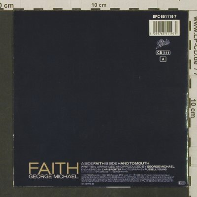 Michael,George: Faith / Hand To Mouth, Epic(EPC 651119 7), NL, 1987 - 7inch - T3189 - 2,50 Euro