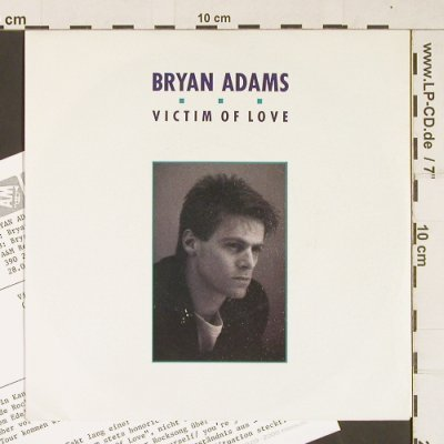 Adams,Bryan: Victim Of Love / Heat of the night, AM(390 237-7), UK, 1987 - 7inch - T318 - 3,00 Euro