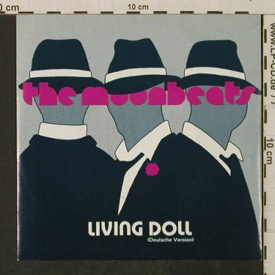 Moonbeats: Living Doll / Moonbeat's Swing, EMI(20 1220 7), EEC, 1986 - 7inch - T3190 - 2,50 Euro