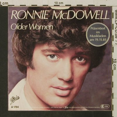 McDowell,Ronnie: Older Women / No Body's Perfect, Epic(A 1784), D, 1981 - 7inch - T3196 - 2,00 Euro