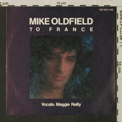 Oldfield,Mike: To France / In The Pool, Virgin(106 590), D, 1984 - 7inch - T3204 - 2,50 Euro